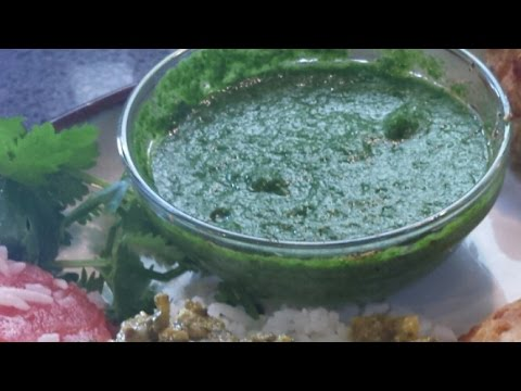 Easy Indian Cooking Mint Coriander Chutney