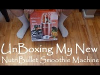 Unboxing NutriBullet – Magic Bullet Nutri Bullet