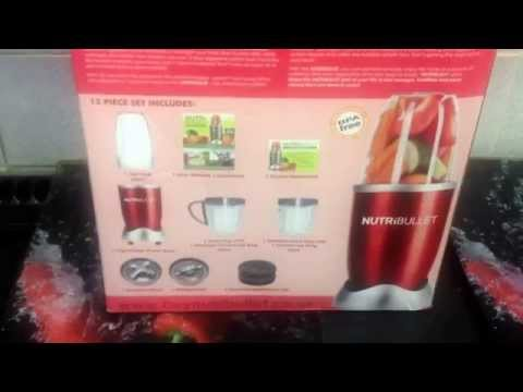 Nutri - Bullet start of my 1 month challenge