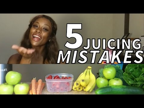 5 Commonly Made Juicing Mistakes | The #juice4five Challenge with Cookie Miller