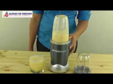 Nutri Bullet NBR 12 12 Piece High Speed Blender Review