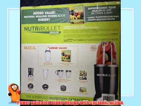 Nutri Bullet 15 Piece Blender - With The Green Smoothie Bible Book (300 Delicious Recipes)