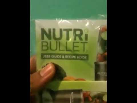 NutriBullet PRO 900 Series Unboxing