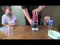 Da Boyz 'n' Dad's FIRST Smoothie ('Merry Merry Berry')