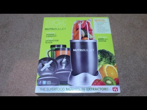 Nutribullet - Unboxing