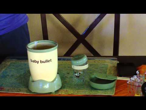 Staying healthy, a Baby Bullet demonstration - Orlando Makeup Artist