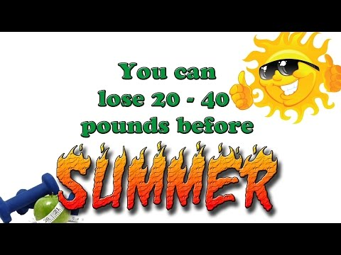 You Can Lose 20 to 40 Pounds Before Summer - #BeLeanin2015