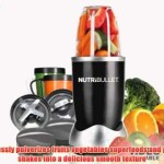 Nutri Bullet NBR-12 12-Piece Hi-Speed Blender/Mixer System Black