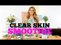 Clear Skin Smoothie PLUS Flat Tummy Benefits