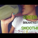 How to Make the Perfect Green Breakfast Smoothie (Nutri-bullet)