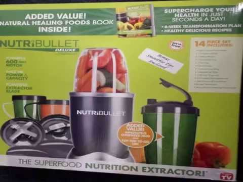 Nutri Bullet 15 Piece Blender - With The Healthy Green Drink