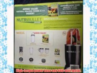 Nutri Bullet 15 Piece Blender – With The Healthy Green Drink Diet Book (Advice and Recipes