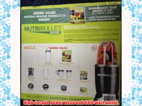Nutri Bullet 15 Piece Blender - With The Healthy Green Drink Diet Book (Advice and Recipes