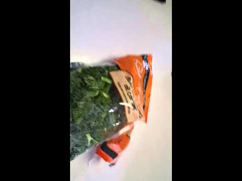 Kale From Aldi Grocery Store - Great For Nutribullet Smoothies!!!