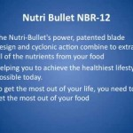 Review for the Nutri Bullet NBR-12 12-Piece Hi-Speed Blender/Mixer System
