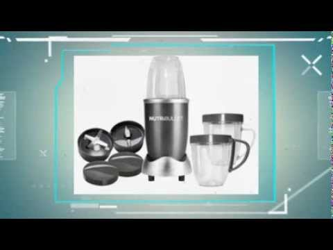 Nutri Bullet NBR-12 12-Piece Hi Speed Blender/Mixer System - Best Appliances Review