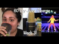 60 Day Juice Cleanse Week 3 – Exercise + NutriBullet