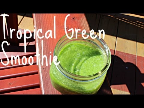♡ How To Make A Green Smoothie! ♡