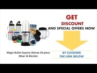 Magic Bullet Express Deluxe 26 piece Mixer & Blender – Magic Bullet Best Buy 2014