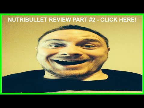 NutriBullet Review - Part 2, Takeing a look at the contents