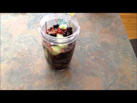 Nutribullet Blueberry Melon Green Smoothie