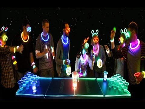 Glow In The Dark Beer Pong! - This Beautiful Life (Ep. 20)
