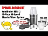[Special Discount] Nutri Bullet NBR-12 12-Piece Hi-Speed Blender/Mixer System