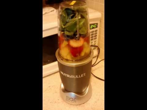 NutriBullet: Juicing For Weight Loss & Energy | Day 1