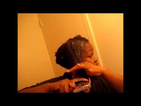 4C Natural Hair...How I Detangle and Trim My Ends