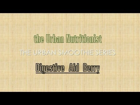 Digestive Aid Berry - The Urban Nutritionist Smoothies