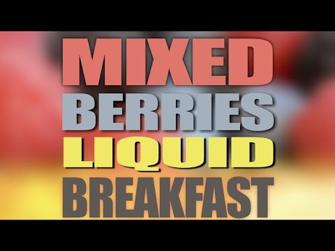 CHEAP, QUICK & HEALTHY Liquid Breakfast