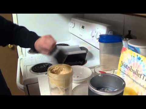 Banana Bread in the Nutribullet??? (yes you can...)