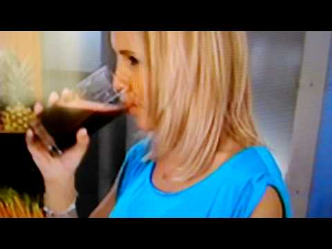 Fake drink on nutribullet advert