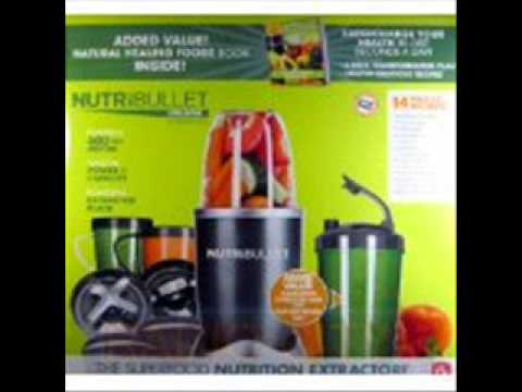 Deals Nutribullet 14-Piece Nutrition Extractor 600 Watt Blender Juicer NBR-1401 Nutri Bullet